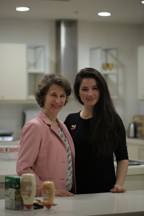 Miriam and Büşra